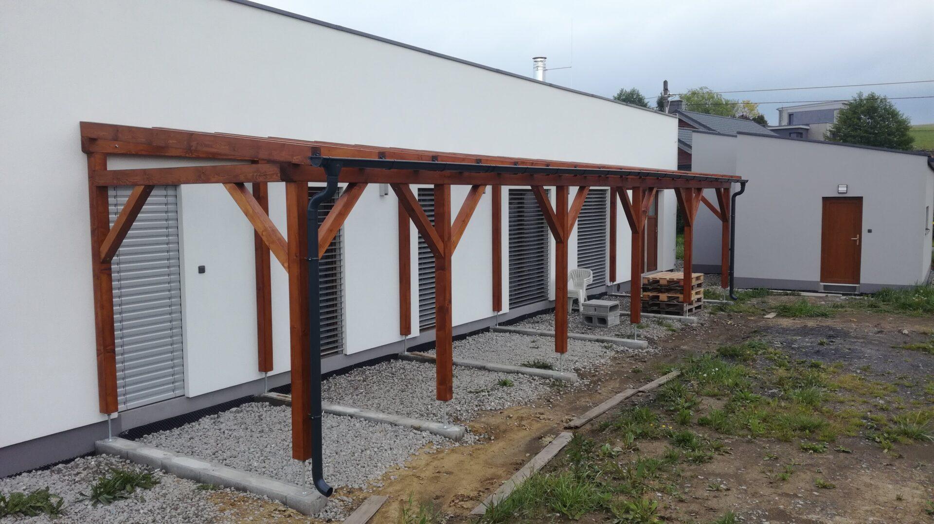 KVH konstrukce pergoly, Metylovice